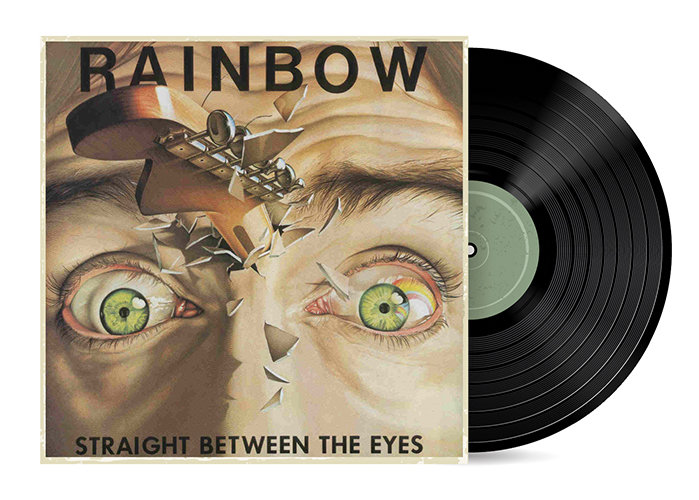 Straight Between The Eyes by Rainbow [Vinyl LP] SOLD OUT