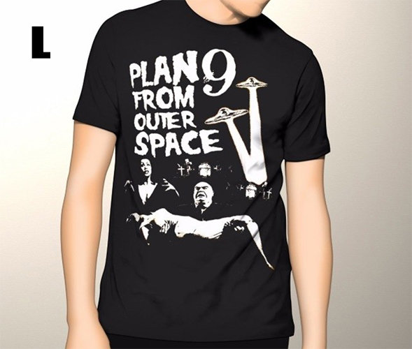 Plan 9 From Outer Space T-shirt Large SOLD OUT