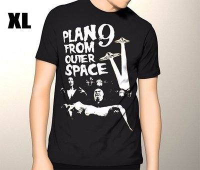 Plan 9 From Outer Space T-shirt Extra Large