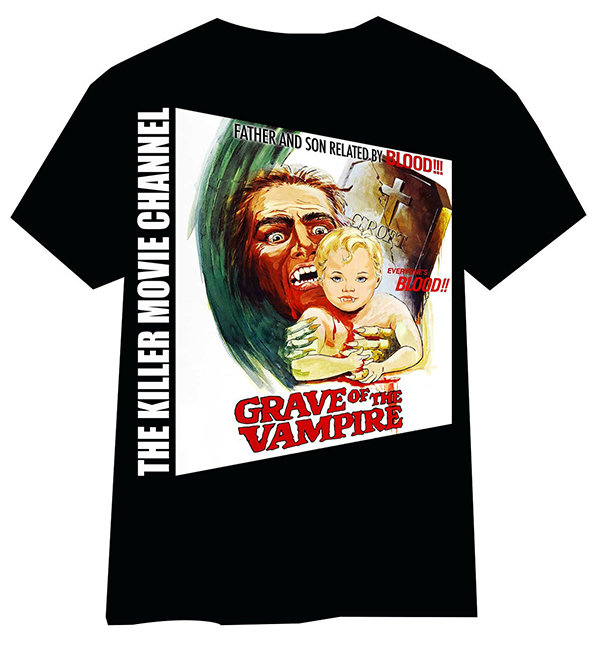 Grave of the Vampire T-Shirt