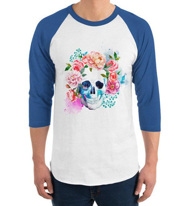 Skull Rose Garden T-Shirt
