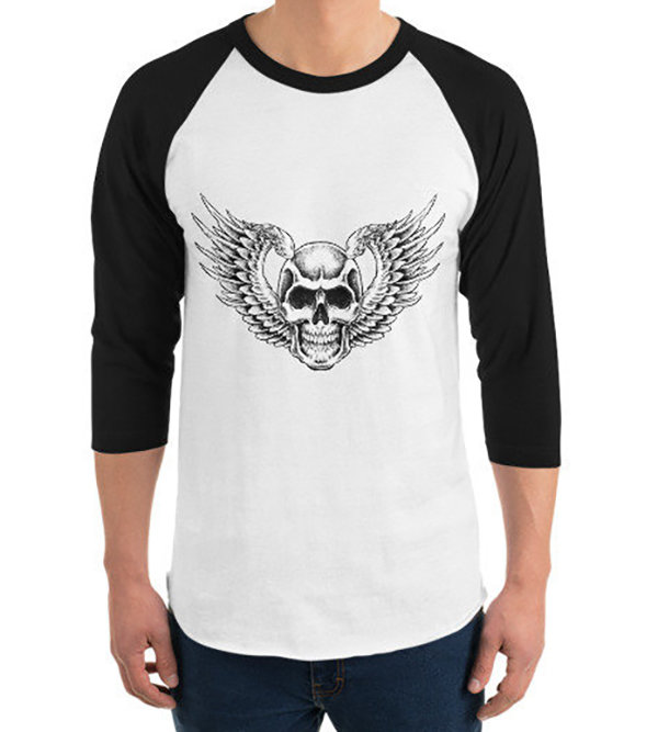 Winged Skull T-Shirt