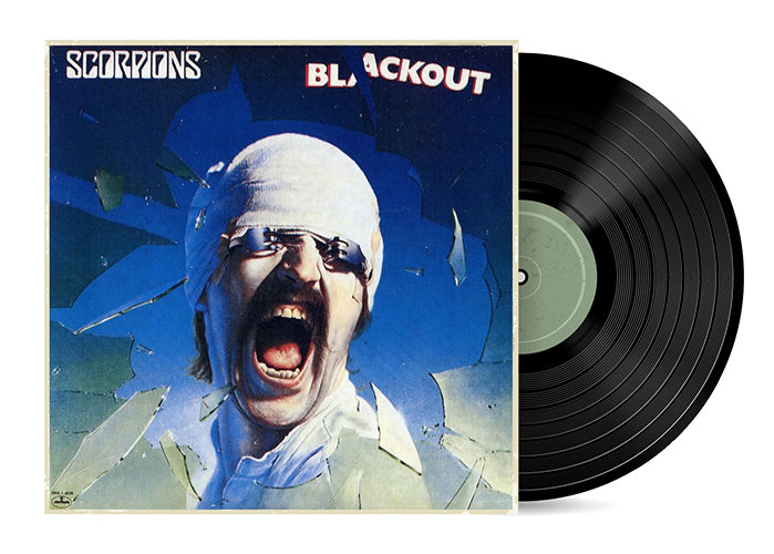 Blackout by the Scorpions [Vinyl LP] SOLD OUT
