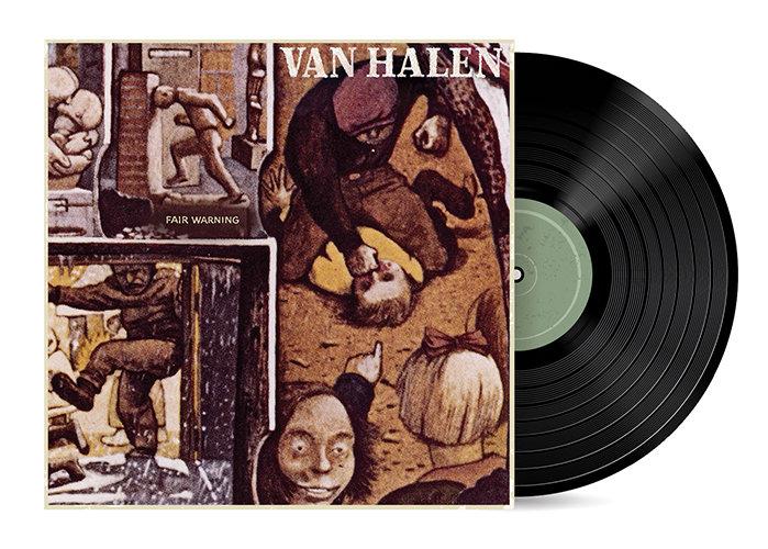 Fair Warning by Van Halen [Vinyl LP] SOLD OUT