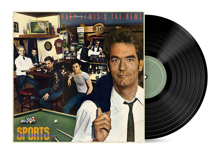 Sports by Huey Lewis and the News [Vinyl LP]