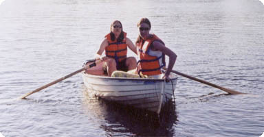 1 Hour 2 to 3 Person Rowboat Gift Certificate