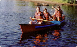 1 Hour 2 to 3 Person Canoe Gift Certificate