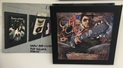 LP Records 'Show and Listen Flip frame'