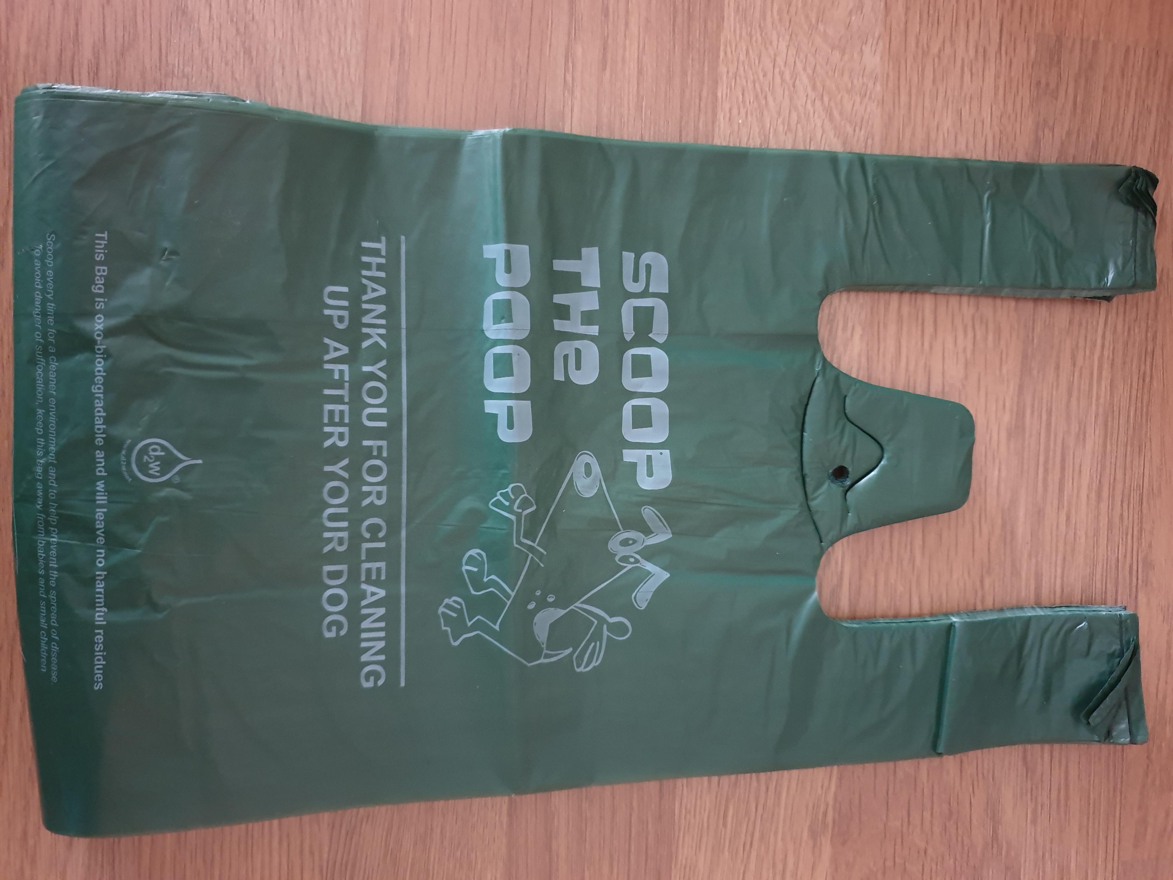 100 Poo bags biodegradable Tie-handle BPB001