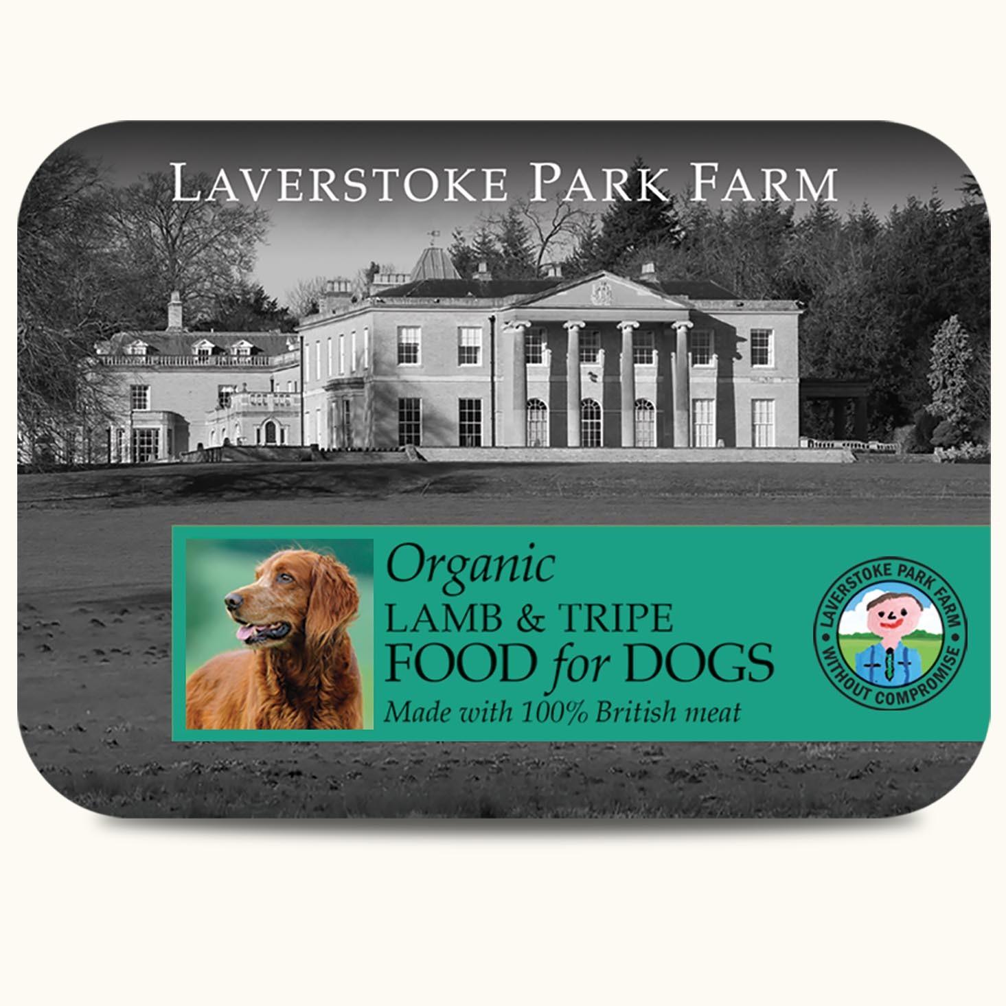 Laverstoke Organic Lamb and Tripe - 500g NLOL&T