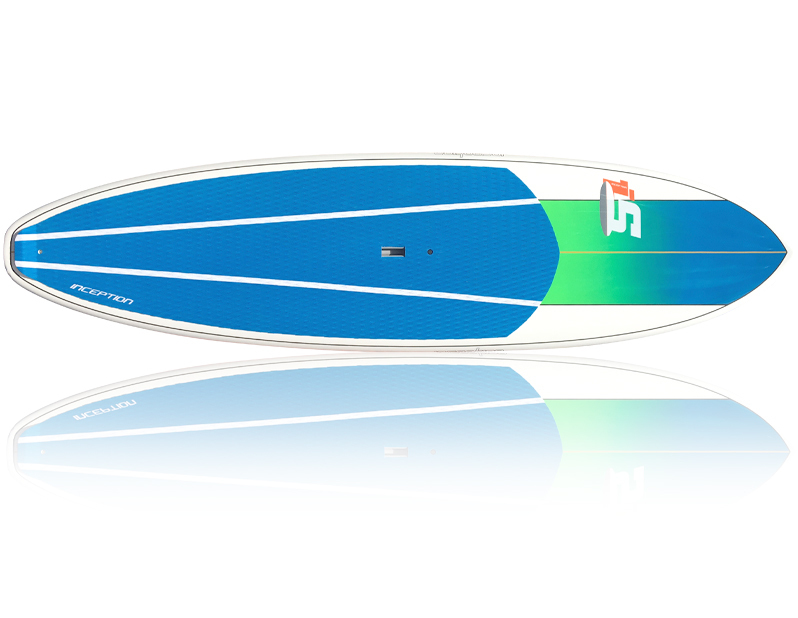 Inception Blue/Green - Package (Board, Bag, Paddle, Leash)