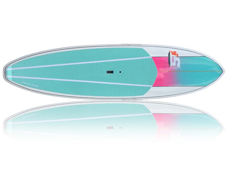 Inception Aqua/Pink - Package (Board, Bag, Paddle, Leash)