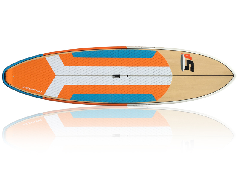 Inception Orange/Blue - Package (Board, Bag, Paddle, Leash)