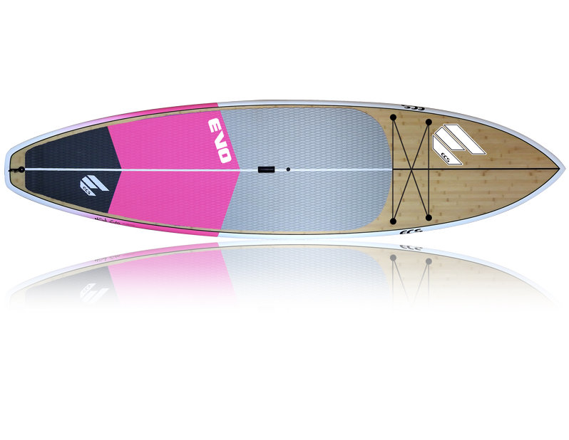 EVO Pink - Package (Board, Bag, Carbon Paddle)