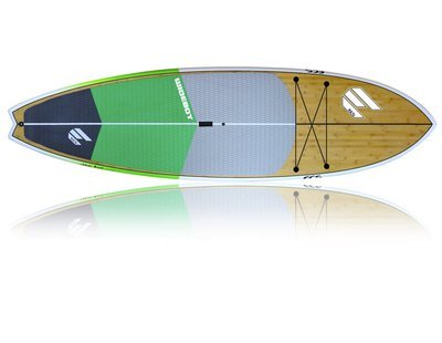 Wide Boy Green Package (Board, Bag, Carbon Paddle)
