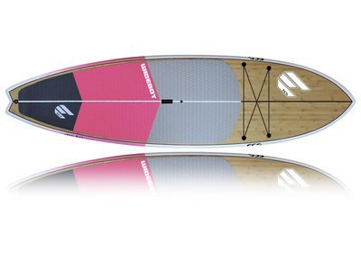 Wide Boy Pink Package (Board, Bag, Carbon Paddle)