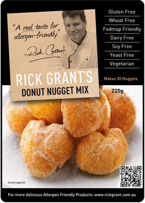 Donut Nuggets Mix - Gluten Free and Fodmap Friendly. Try these delicious Donut Nuggets, the whole family will love you for it!