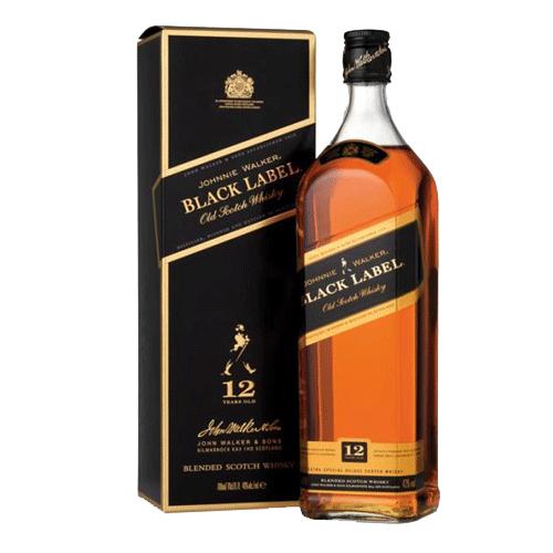 johnnie walker black label, 1.75l — costco
