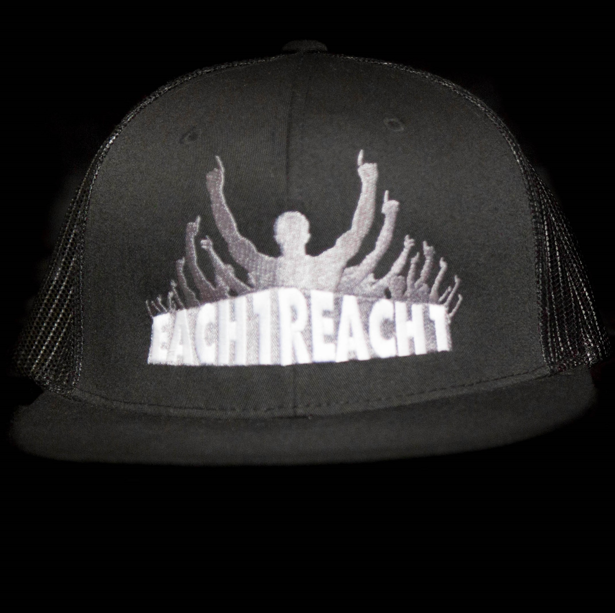 REACH ONE HAT - BLACK 00018