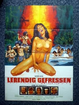 DOOMED TO DIE 1980 Original German A1 Movie Poster