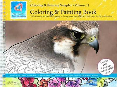 Coloring & Painting Sampler - Memories Coloring & Painting Book, Vol 1