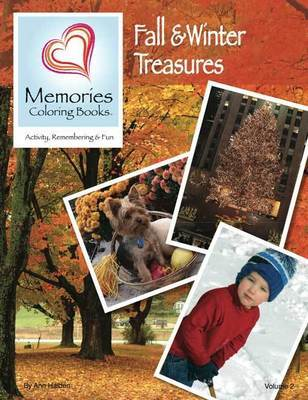 Winter Treasures - Memories Coloring Books, Vol 2