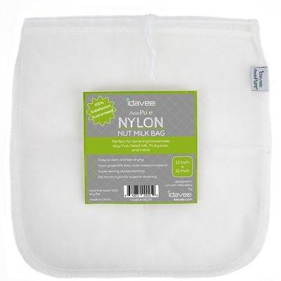 "Idavee Brand Presto Pure IAE17N 12x12"" Reusable Nylon Straining Bag IAE17N"
