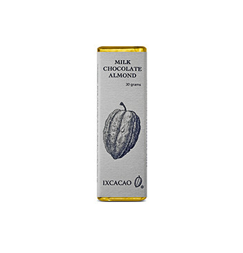 Barra de Chocolate Almendras - 30 g
