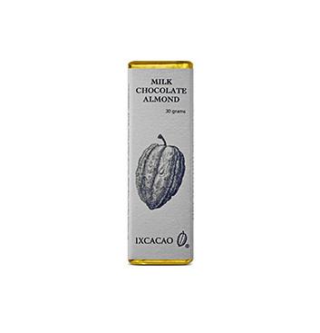 Barra de Chocolate Almendras - 30 g