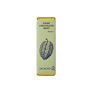 Barra de Chocolate Menta - 30 g