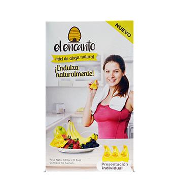 Miel de Abeja El Encanto® (cont. 30 Sachets) - 620g