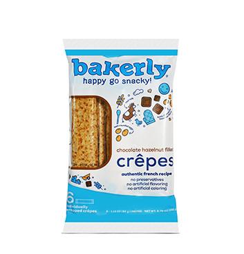 Crêpes Rellenas de Chocolate Bakerly® - 192 g