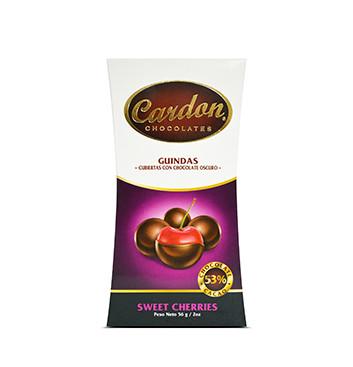 Guindas cubiertas con Chocolate Cardon® - 56 g