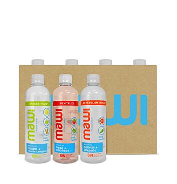Caja de Agua Mawi® - 30x500 ml