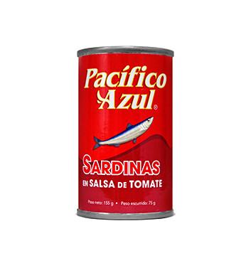 Sardina Pacífico Azul® - Salsa de Tomate - 160g