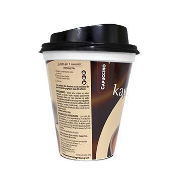 Café Carmoli® Sabor Capuccino - 8 onzas