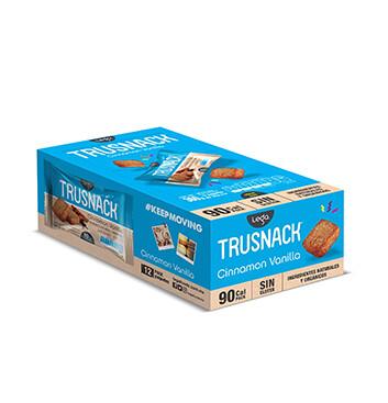 Snack Vegano TRUSNACK® Sabor a Vainilla Canela - 12x30g