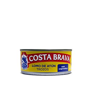 Lomo de Atún en Trozos con Vegetales Costa Brava® - 6 oz