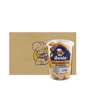 Caja de Chiquiadores con Azúcar Iberia® - 6x160g