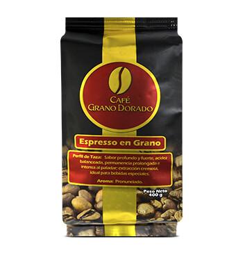 Caja Café Grano Dorado Espresso (Grano) 400g