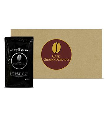 Caja Café Grano Dorado Premium Molido, (Fardo 50 unidades) 3.5 onz.
