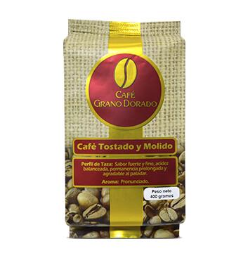 Caja Café Grano Dorado Especial (Molido) 400g