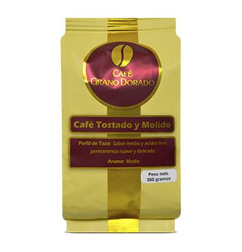 Caja Café Grano Dorado Tradicional (Molido) 350g