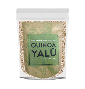 Quinoa Blanca prelavada - 1 Libra