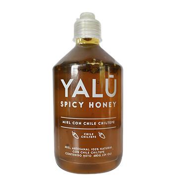 Miel de Abeja con Chile Chiltepe YALÚ® - 680 gramos
