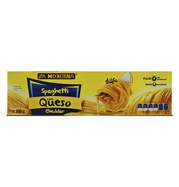 Bolsa de Spaguetti con queso La Moderna -200g
