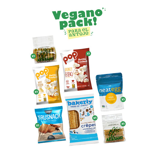 Vegano Pack! para el Antojo