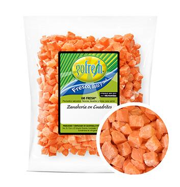 Zanahoria en Cuadritos Gofresh® -  1 Libra