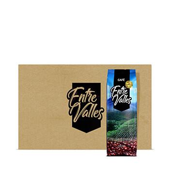 Caja con Café Entre Valles (Molido) - 20x450g
