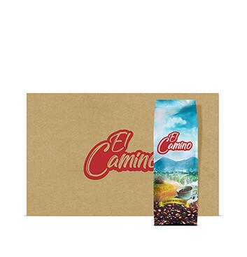 Caja con Café El Camino (Molido) - 20x350g